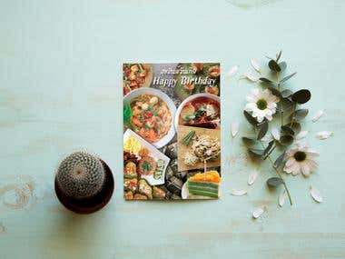Thai Food - Greeting Card