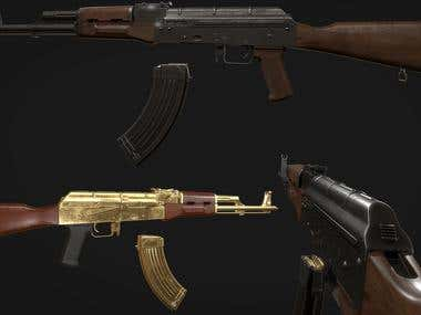 Weapon Modeling