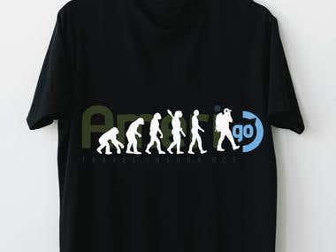 amerigo design t shirt