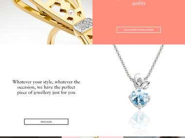 Online Store For Jewellery