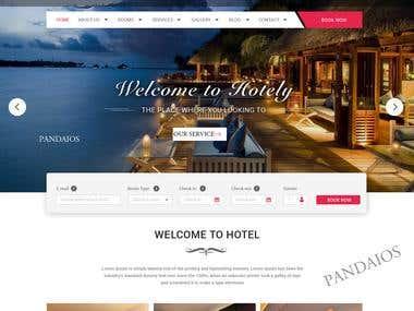 Hotel website.
