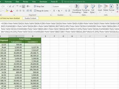 Make Loan Calculator