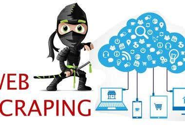 web scraping