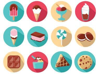 Tasty Icons Collection