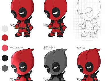 Deadpool Character design