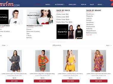 Fashion Shop management