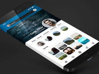 Profile Page UI Design of Social Networking App
