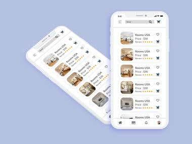 UI Design of E-Commerce Mobile App