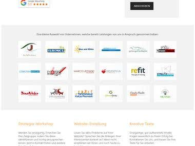Jenanet.de (created with WordPress)