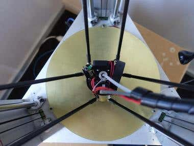 3D Delta Printer Built