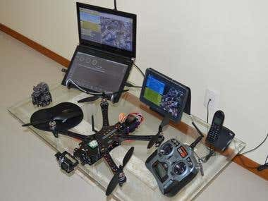 RC Drone with FPV