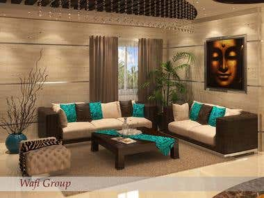 living room and dining room design