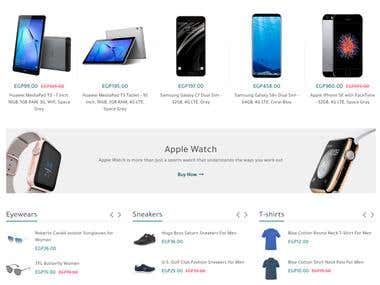 Laravel Shoping Site