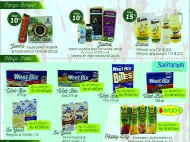 WEB Application For Supermarket