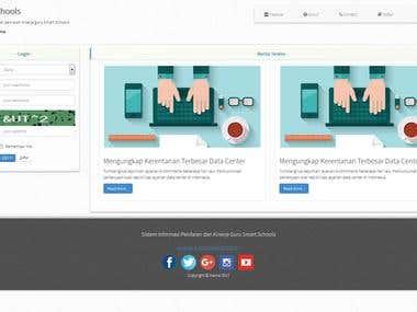 WEB Application For Smart School