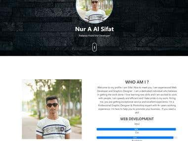 This is my Design and my Portfolio website
