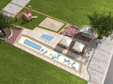 Public Children Area and Plaza