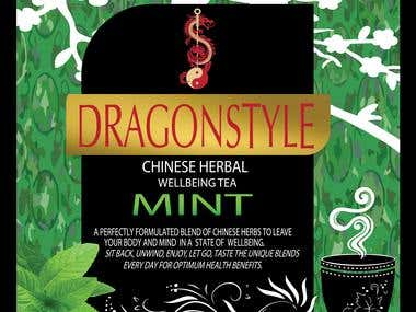 Dragon-style Tea boxes design