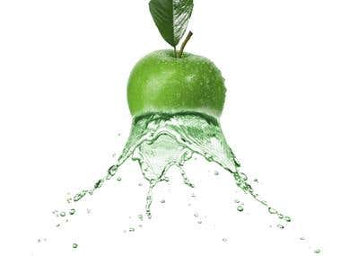 Dispersion Effect On the Apple