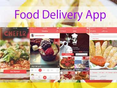 Food Ordering Mobile App - React Native