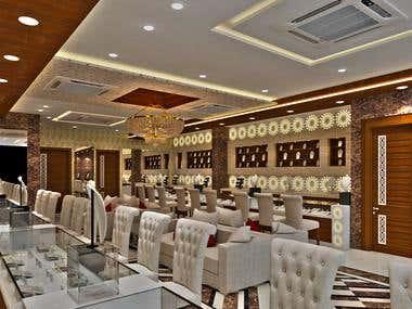 Designing of Jewellery Showroom