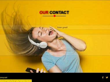 website-contact-section