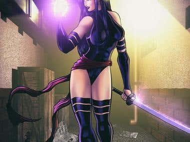 Comicbook Character: Psilocke