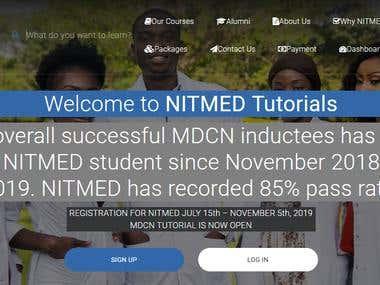 NITMED TUTORIALS (https://nitmedtutorials.com.ng)