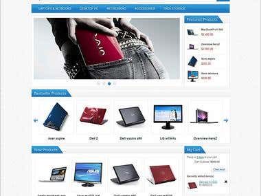 Product Listing Magento, Shopify and WordPress etc