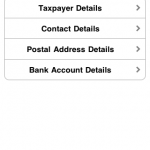 TaxPayer application for iphone