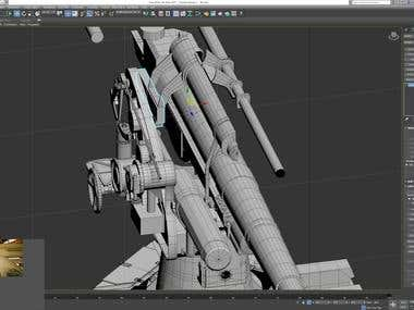Interesting 3DS MAX! (Modelling,Animation,Rendering)