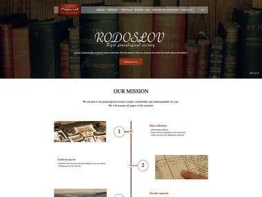 "(Wordpress Web Corporation) - ""Rodoslov"""