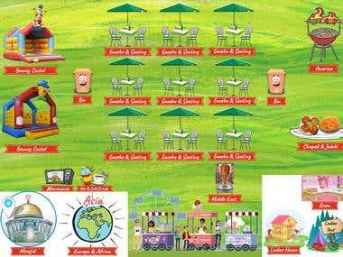 Leaflet for Food event