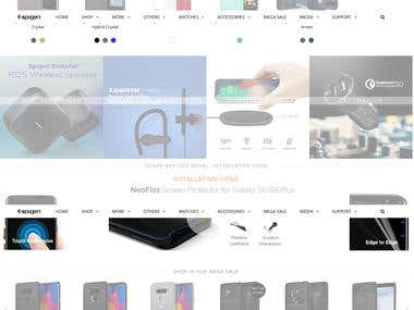 Responsive Shopify Mobile Store