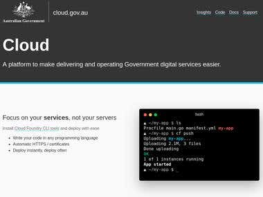 cloud.gov.au