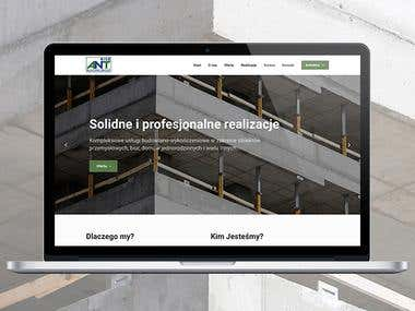 Antrise Building Group - construction company website