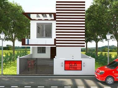 I am a 3D Designer with experience of 3 year in interior...