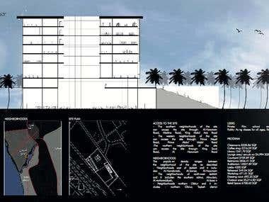 Portafolio diagramming and photos editing