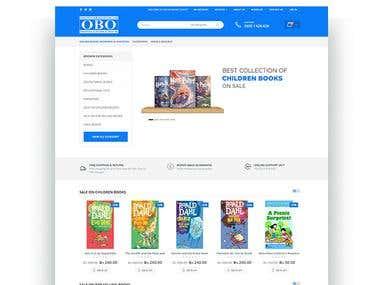 Online Books Outlet Website