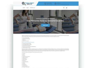 Physical Therapy Website