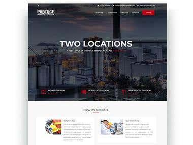Prestige Website