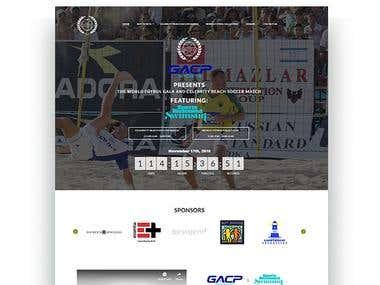 Worldfutball Gala Website