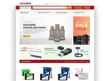 Techspot Website