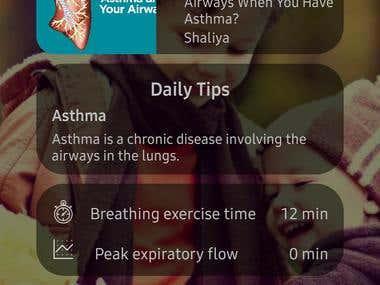 Inhalo Mobile App