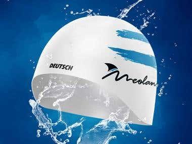 Diseño Gorras Natación Meolans