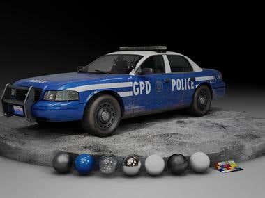 Gotham Police Car