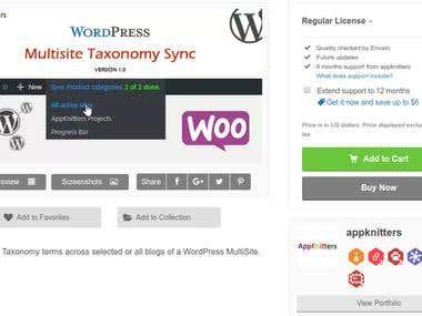 WordPress Multi-site Taxonomy sync