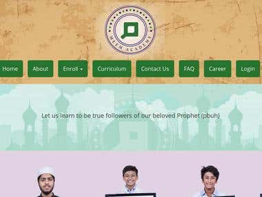 Meem Academy Website