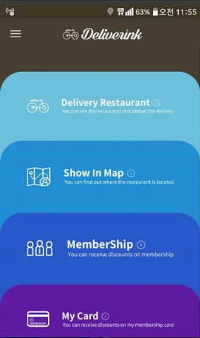 Deliverink Food Delivery App
