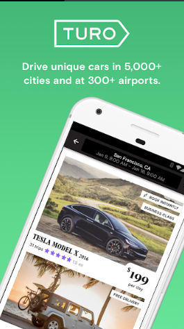 Turo - Better Than Car Rental App